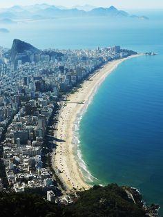 Leblon, Ipanema Arpoador e ao fundo Copacabana - Rio de Janeiro    (by ericanee)