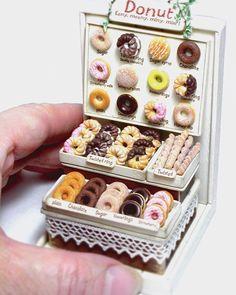 ♡ ♡2017, Miniature donuts shop♡ ♡ By Klein Klein