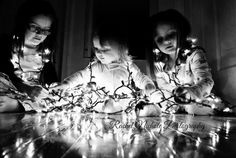 Kids Christmas picture, LOVE