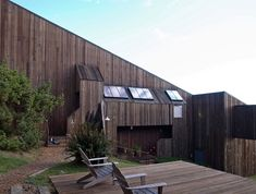 Sea Ranch, House By The Sea, Ranch Style, Condominium, Modern Architecture, Facade, Shed, California, Outdoor Decor