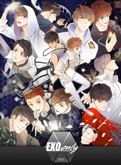 If EXO Was A Manga/Manhwa Which Genre Would U Read: Shōnen, Bishōnen, Kawaii/Cute? | allkpop Meme Center