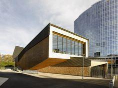 Behnisch Architekten - Project - WIPO/OMPI Conference Hall