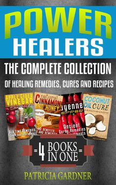 Kindle FREE Days: May 22 – 23      ~~ Power Healers ~~ Apple Cider Vinegar, Coconut Oil, Cayenne Pepper & Cinnamon Honey: Complete Collection Of Healing Remedies, Cures, & Recipes.