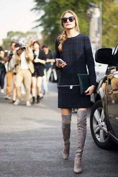 Olivia Palermo en la fashion week de Paris 2013