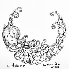 A personal favorite from my Etsy shop https://www.etsy.com/listing/189059242/free-shipping-drawn-to-orderbaby-octopus