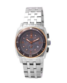 FREE US SHIPPING. Authentic Oniss ON614-M Men's Watch Swiss Chronograph Movement Gray Dial Stainless Steel Band. Authorized Watch Retailer.