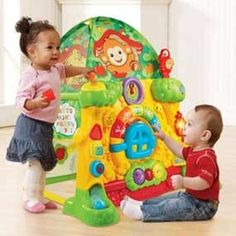 Amazon.com: VTech Grow and Discover Tree House Toy: Toys & Games