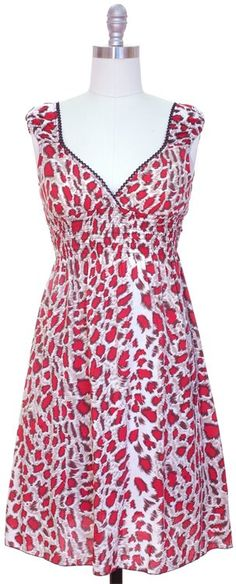 Junior Surplice Dress - Pink Leopard~ $18.00 Shipped!  Sizes available~ 1-SM, 2-MED, 2-LG, 1-XL