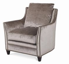 Shop the Eyre Chair by Century Furniture at Furnitureland South, the World's Largest Furniture Store and North Carolina's Premiere Furniture Showroom. Tufted Chair, Wing Chair, Armchair, Large Furniture, Quality Furniture, Furniture Design, Living Room Chairs, Living Room Furniture, Acrylic Chair