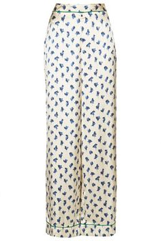 **Floral Pajama Pants by Kate Moss for Topshop - Kate Moss for Topshop - Clothing