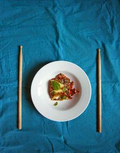Kettledrums: Lemony goat cheese lasagna