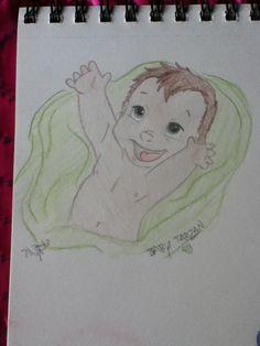 Same Tarzan, colored version.