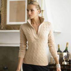 Classic winter sweater