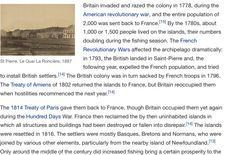 This is the history American Revolutionary War, St Pierre And Miquelon, Archipelago, Revolutionaries, Britain, France, Island, History, Block Island
