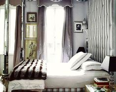 . . . and it is nearly time again to stow away the light bed linens for cosy throws & warm duvets, and perhaps, for the warmer shades of coco & morning coffee, all perfectly intermingled with always elegant tufted stripes and ultra-glamorous lavender silk . . . {p.s.} and at long last, a few »