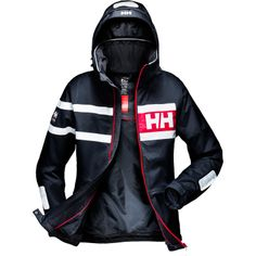 SALT POWER JACKET Based on our popular and proven design of the Salt Jacket, this bold and modern design features the Helly Hansen Marine Stripe.Double click to zoom in