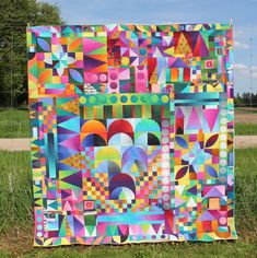 In the Garden–a Quilt by Kim Lapacek