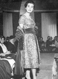 Miss. Adalgisa Colombo também fez sucesso na passarela da Canadá de Luxe