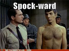 Shirtless Leonard Nimoy! *hyperventilates*