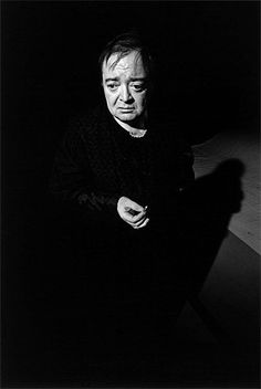 """Primitive people hid from the camera to avoid the theft of their souls. But they are mistaken.  It is, rather, the soul of the photographer that is captured by the photograph."" Jeanloup Sieff.  Very moving photo of Peter Lorre"