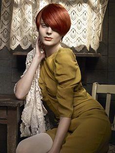 Tendance coiffure 2011 : la coupe courte avec mèche