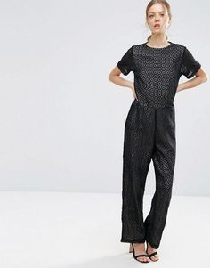 11fd00ffe80b Buy Black Asos Long jumpsuit for woman at best price. Compare Jumpsuits  prices from online stores like Asos - Wossel Global
