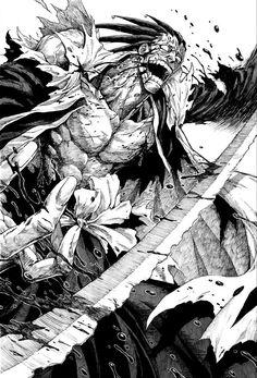 A.M.Universe (Posts tagged kenpachi zaraki) Bleach Anime Art, Bleach Fanart, Bleach Manga, Anime Neko, Otaku Anime, Bleach Tattoo, Saga Art, Kenpachi Zaraki, Ichigo Y Rukia