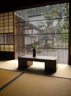 Japan - Interior at Waki-Honjin, Tsumago-juku, Nagano