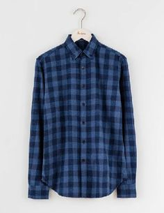 Boden Flannel Shirt Blue Nep Check Men Boden, Blue Nep A good flannel shirt is an everyday wardrobe hero. With a soft, brushed feel and a slightly tailored waist for a put-together look, all you need to do is throw it on over a T-shirt and jeans. Blue-ton http://www.MightGet.com/january-2017-13/boden-flannel-shirt-blue-nep-check-men-boden-blue-nep.asp