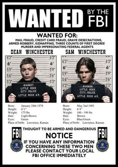 Supernatural is currently in its season, and it's earned quite the loyal fan base over the years. Sam and Dean Winchester are practically part of our own Supernatural Poster, Supernatural Bloopers, Supernatural Tumblr, Supernatural Tattoo, Supernatural Imagines, Supernatural Wallpaper, Avengers Quotes, Avengers Imagines, Marvel Avengers