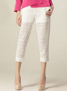 Openwork Crochet Lace Pants$56. Enjoy 25%OFF for the coming Mother's Day! http://www.udobuy.com/article.php?id=44