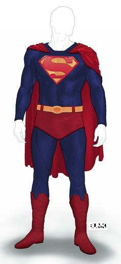 Superman Reboot Suit by Bunk2 on DeviantArt