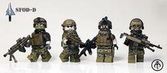 SFOD-D Squad Custom Minifigures