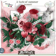 A taste of summer - elements  http://digital-crea.fr/shop/index.php?main_page=index&cPath=467