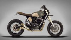 Honda Dominator NX650 Street Tracker - Ton-Up Garage