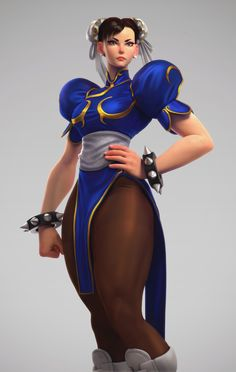 Hi all! Here is my fanart of Chun-Li, I did it during my spare time over few months this year...whenever I could! There is my first time using Vray and Ornatrix so i took the chance to study them a bit. I did various test before finding the result I liked. Let me know what you think guys, cheers!
