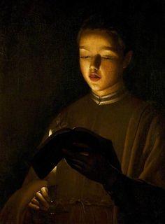 The Choirboy  -  Georges de La Tour  1645 French  1593-1652