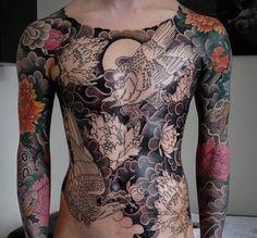 tatouage style japonais
