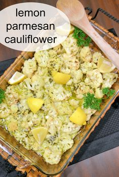Lemon Roasted Cauliflower- Zesty, fresh and colorful: Parmesan Roasted Cauliflower is a perfect and simple side dish that accompanies any meal, summer or winter, spring or fall, causal or elegant. #cauliflower | www.savoryexperiments