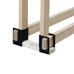 Pleasant Hearth 4 Piece Log Rack Brackets Black >>> Read more reviews of the product by visiting the link on the image. (Note:Amazon affiliate link)