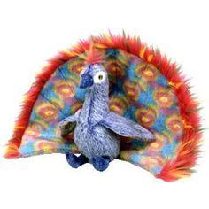 TY Beanie Baby - FLASHY the Peacock
