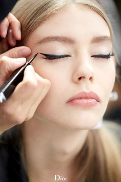 Dior Cruise 2015 - kitty eyeliner