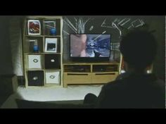 """IllumiRoom Projects Images Beyond Your TV for an Immersive Gaming Experience    http://www.techradar.com/us/news/gaming/microsoft-illumiroom-concept-brings-your-whole-living-room-into-the-game-1124249    """"The company also insists that the effects shown """"are rendered in real time and are captured live - not special effects added in post processing"""", which gives us the impression that it's seriously serious about this one."""""""