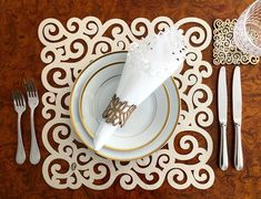 Sea Snail, Spoon Rest, Tableware, Mandalas, Dinnerware, Tablewares, Dishes, Place Settings