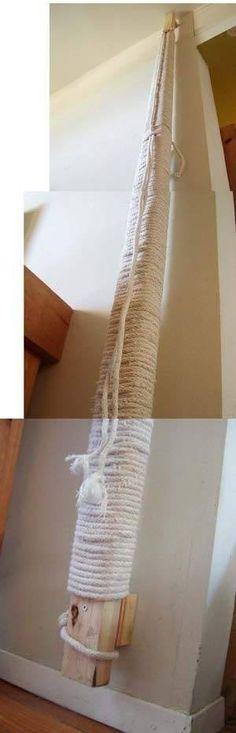 DIY scratching post