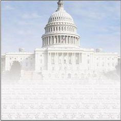 CAPITOL BUILDING 12x12 Scrapbooking paper WASHINGTON D.C. 2 FOR 99 CENTS SALE!