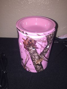 Mossy Oak Break Up Pink Warmer msheather.scentsy.us or email me Holli.gilbert87@yahoo.com #scentsy #wickless