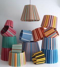 Diy Furniture Flip, Funky Furniture, Furniture Decor, Lampshade Chandelier, Lampshades, Basket Lighting, Diy Wall Painting, Lamp Design, Soft Furnishings