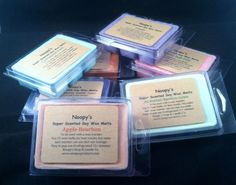 Noopy's Wax melts. Made with kosher soy wax.