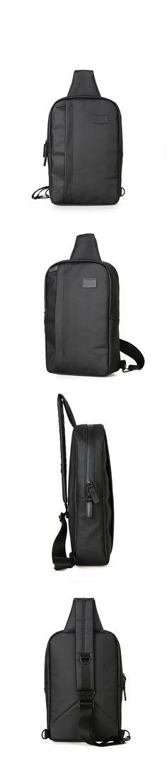 가방팝&멀티팝은 100%정품만을 판매합니다. - [제너]JENNER JN5 COATED SLING BAG [BLACK] 코티드 슬링백-49,000원
